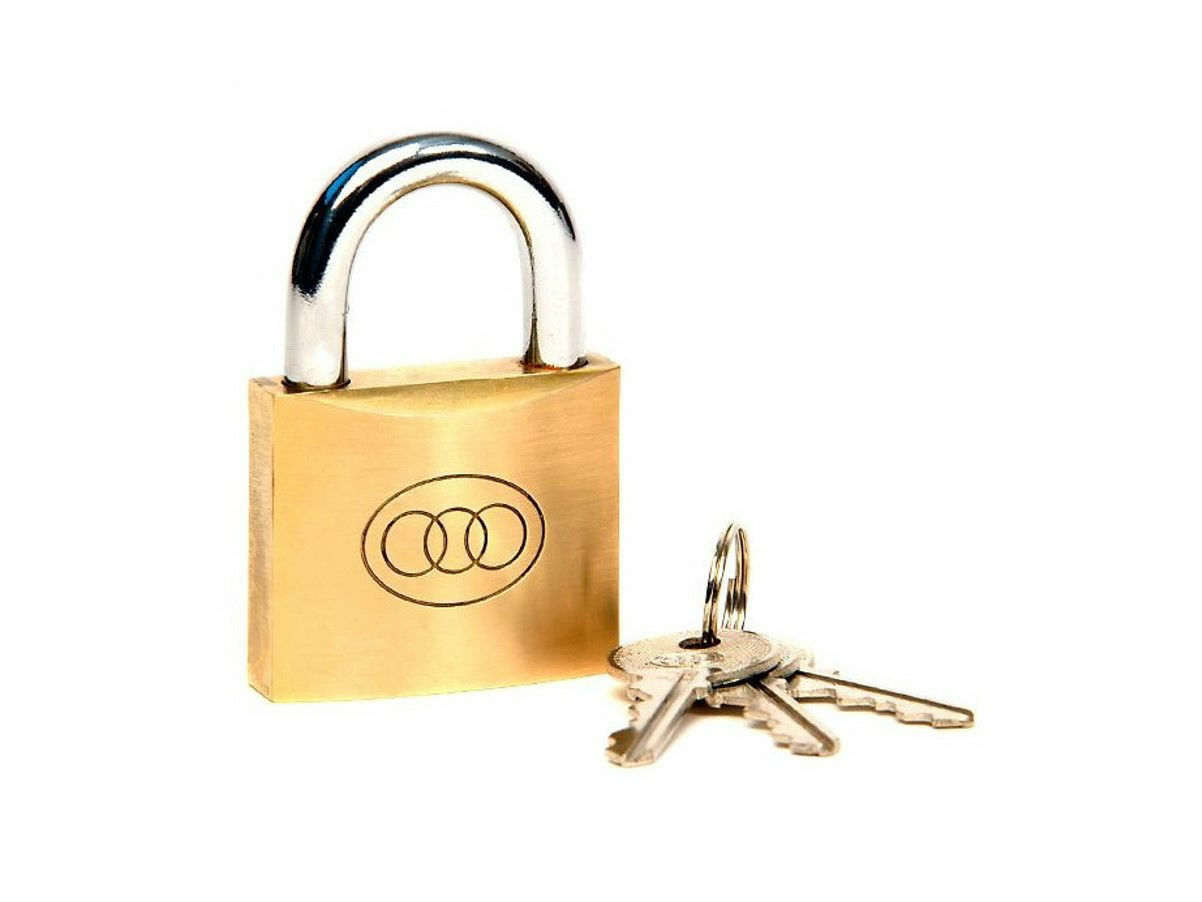 Picture of BRASS PADLOCK