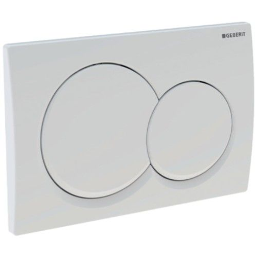 Picture of Act Plate Alpha 01 D-Flush Crm-Plated