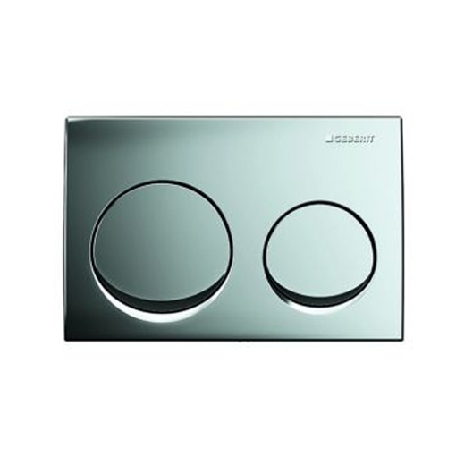 Picture of Act Plate Alpha 10 D-Flush Bright/Crm