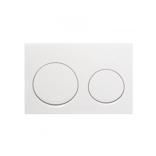 Picture of Act Plate Alpha 10 D-Flush Wht/Alp