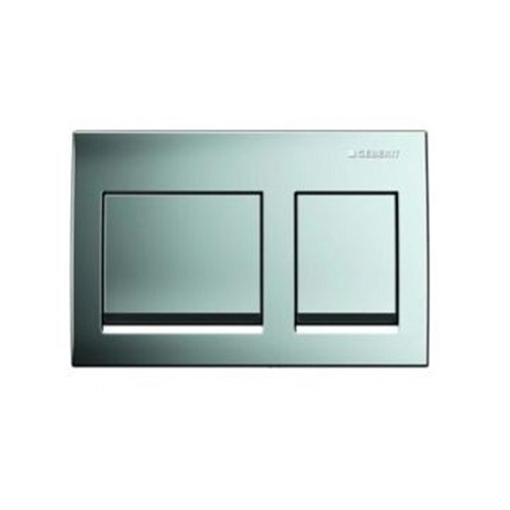Picture of Act Plate Alpha 15 D-Flush Bright/Crm