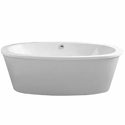 Picture of ALEXA F/STAND OVAL BATH W/ SURROUND 1800 x 900