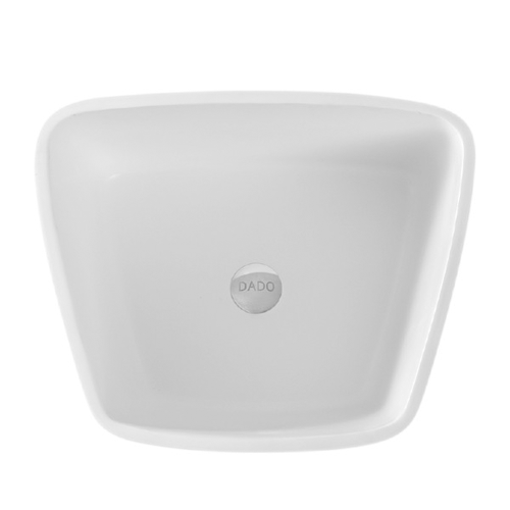 Picture of DADOquartz AVA PILLAR BASIN NO TAP HOLE (PL WH)