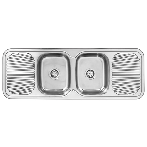 Picture of Double Center Drop In Sink 1390 x 480