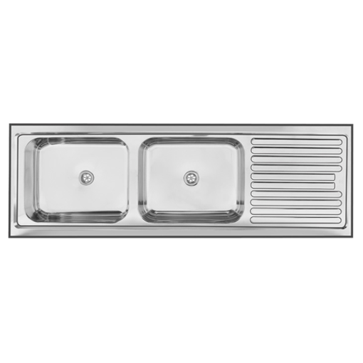 Picture of Double End Bowl Sit On Sink 1500 x 535