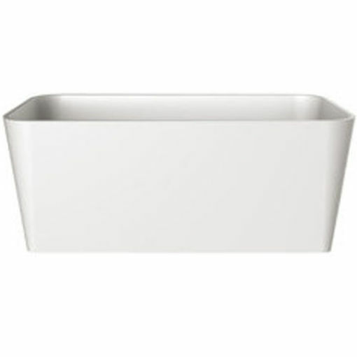 Picture of Edge F/Stand Rect Bath Wh 1495 x 803