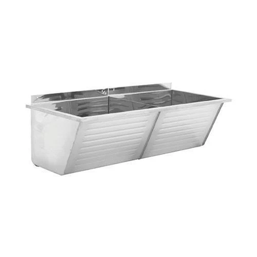 Picture of Et102 Fabricated Double Washtrough 1030 x 440 x 388
