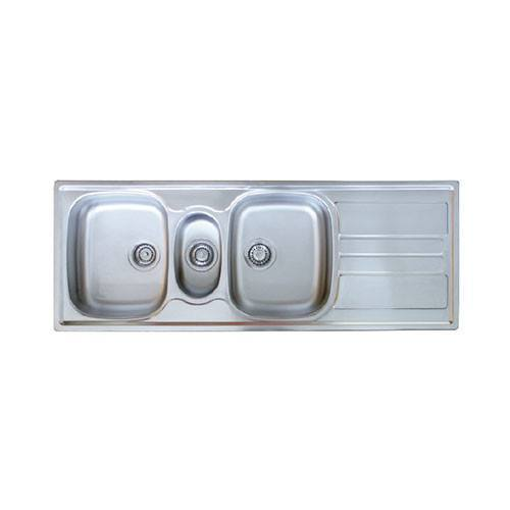 Picture of GENESIS GSX 671 DBLE BOWL & TIDY 1360x500x157/139