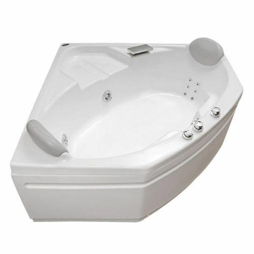Picture of Genoa Built-in Corner Jet Bath