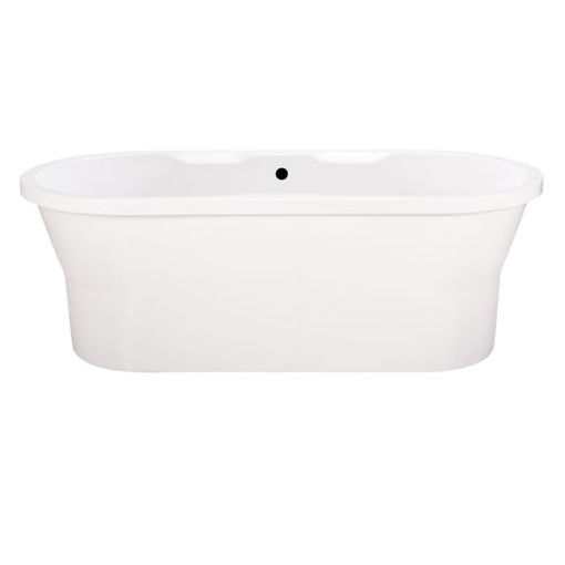 Picture of Jenna Free Standing Oval Bath With Surround 1700 x 795