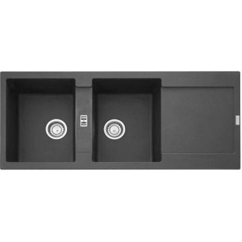 Picture of Franke Maris Stone Inset Double End Bowl Sink 1160 x 500