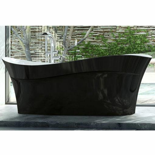 Picture of Pescadero F/Stand Oval Bath Black1695 x 798