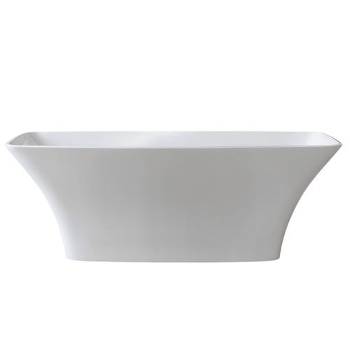 Picture of Ravello Free Standing Oval Bath 1743 x 765 (Gloss White)