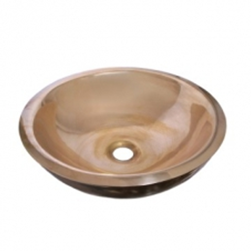 Picture of Rossco Small Double Skin Basin (Brass)