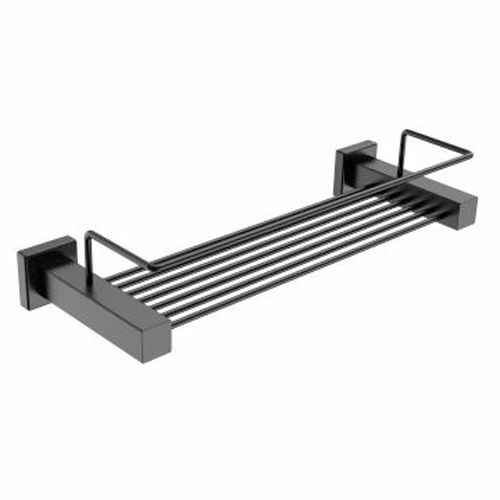 Picture of SHOWER RACK 330 MM MATT BLACK