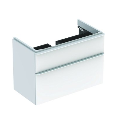 Picture of SMYLE SQ CABINET FOR HAND WASH BASIN 2 DRAWER 1184 x 470 x 617 (WHT)