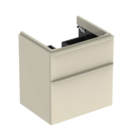 Picture of SMYLE SQ CABINET FOR HAND WASH BASIN 2 DRAWER 584 x 470 x 617 (SAND)