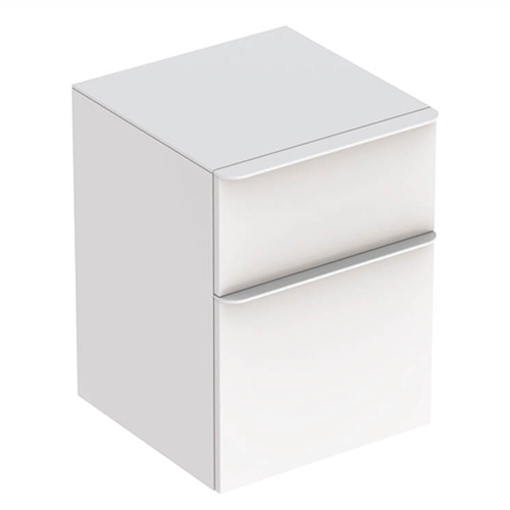 Picture of Smyle Square Low Cabinet 2 Drawer 450 x 470 x 600 (Wht)