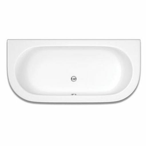 Picture of SYNERGY CURVE F/STAND RECT BATH W/ SURROUND 1800 x 800