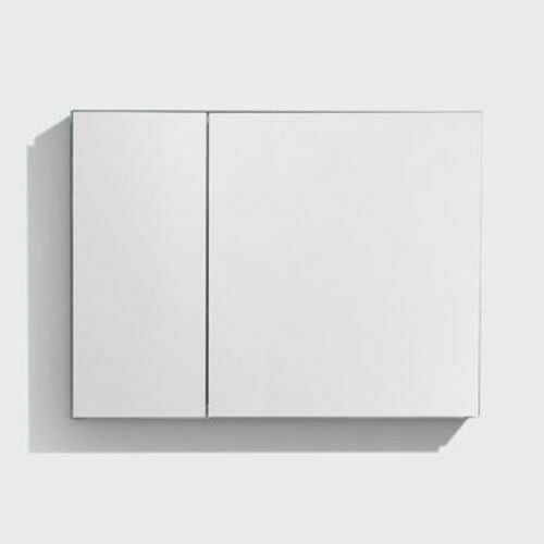 Picture of Mirror Cabinet 880 One And Half Door