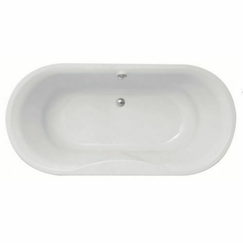Picture of Xtacy F/Stand Oval Bath W/ Surround & Kit 1850 x 900