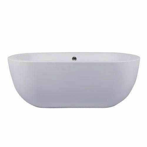 Picture of Mountbatton F/Stand Square One Peice Bath 1700 x 750