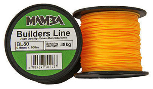 Picture of Builders Line 0.9 mm x 100 M 38 Kg