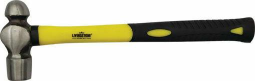 Picture of Hammer Ball Pein 454G Fiberglass Handle Livingstone 1227