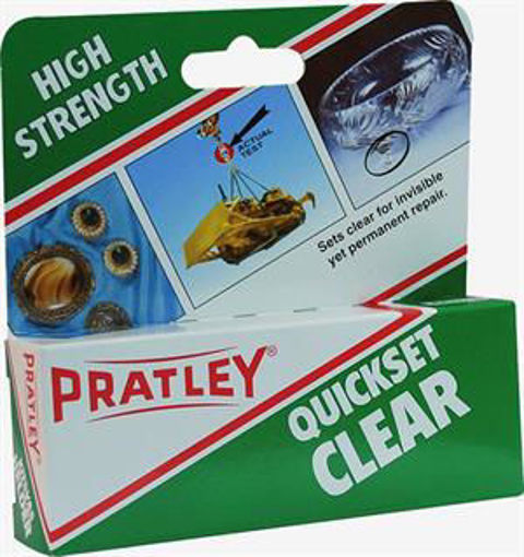 Picture of Pratley Quickset Glue Clear