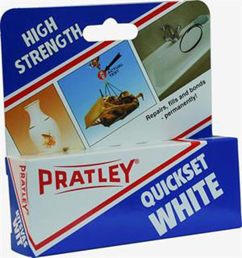 Picture of Pratley Quickset Glue White