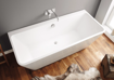 Picture of Cuba Free Standing Back to Wall Bath 1700 x 800