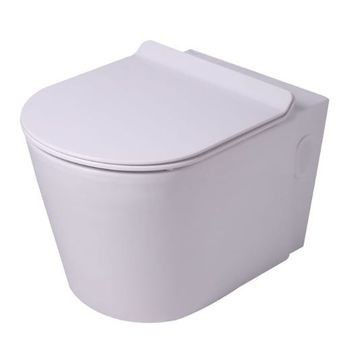 Picture of Entice Back Entry Wall Hung Pan With Soft Close Seat