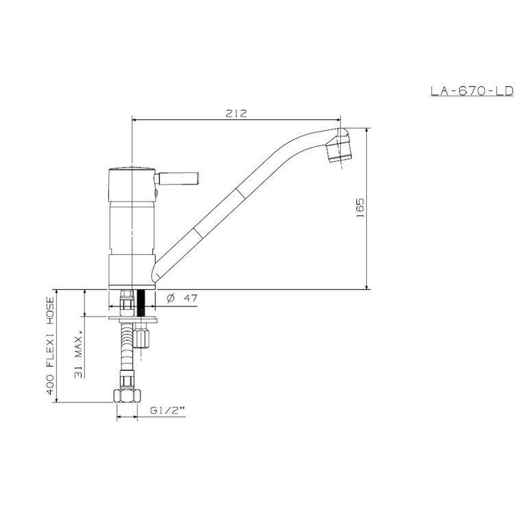 Picture of Latis Sink Mixer