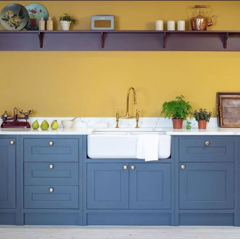 Picture of Shaws Double Bowl 800 Handcrafted Fireclay Sink