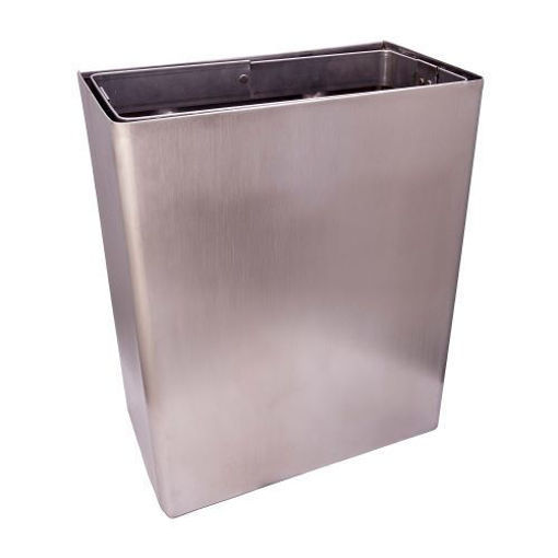 Picture of Sanitary Wall Bin 30 x 30 x 20 (Stainless Steel)