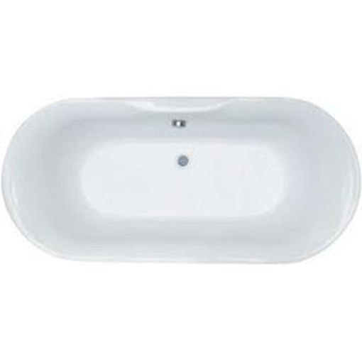 Picture of Darwin Built-In Oval Bath 1700 x 800