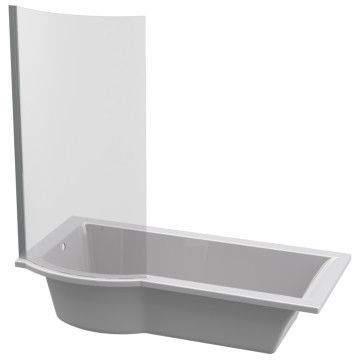 Picture of Tokyo Built-In Shower Bath with Shower Screen (Right Hand)