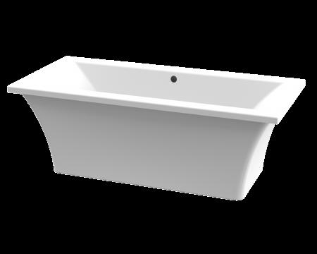 Picture of Bergamo 1800 x 800 Free Standing Acrylic Skirted Bath