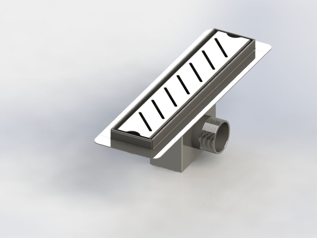 Picture of Expand a Drain Stainless Steel Shower Channel 300 mm