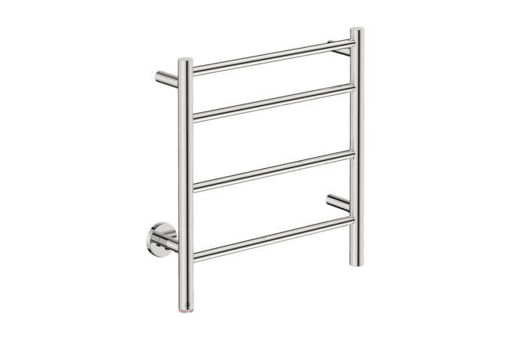 Picture of Bathroom Butler Natural 4 Bar Heated Towel Rail 500 mm Polished (PT Select Switch)