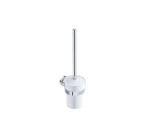Picture of Liquid Red Felicity Toilet Brush + Holder (Polished)