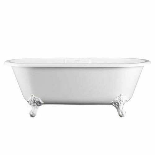 Picture of Cheshire F/Stand Oval Bath With Q/Castfeet 1750 x 800