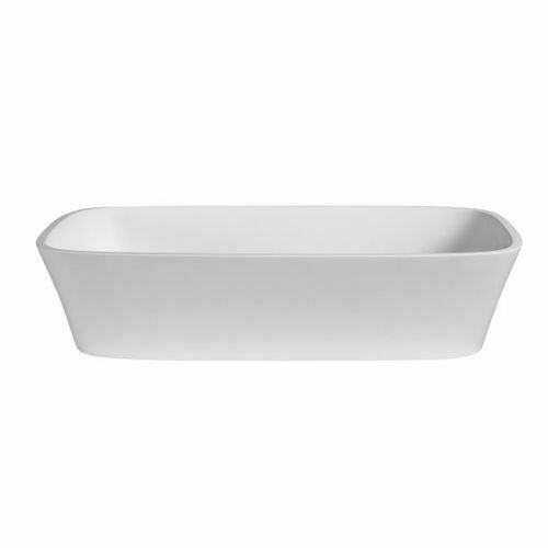 Picture of Dadoquartz Deonne F/Stand Rectanglel Bath Gl Wh 1630 x 755