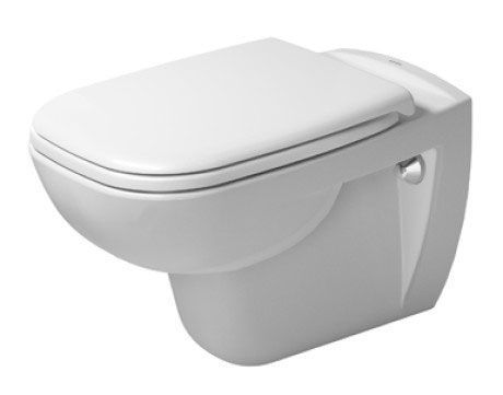 Picture of Duravit D-Code Rimless Wall Mount Pan