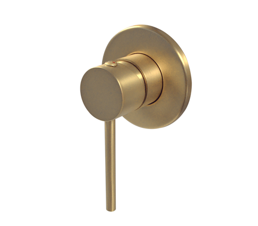 Picture of Blutide Neo Concealed Shower or Bath Mixer (Brushed Brass)
